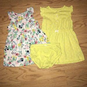 Carter's Dress Bundle 24M